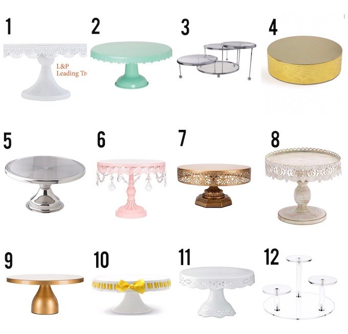 Never underestimate a good cake stand! These 32 cake stands are gorgeous and versatile, I'm sure there will be at least one to suit your needs!  Design Dazzle