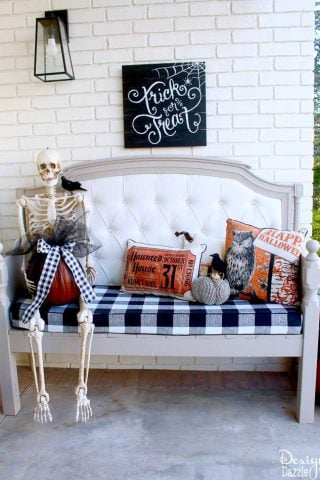 Halloween Front Porch (Home Depot Style Challenge)