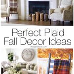 Perfect Plaid Fall Decor Ideas