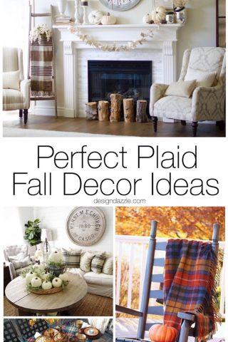 Perfect Plaid Fall Decor Ideas