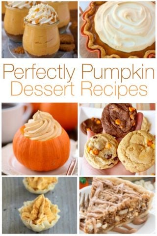15 Perfectly Pumpkin Dessert Recipes