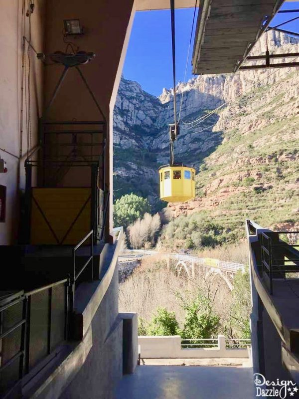 Montserrat Monastery in Spain - Cable Car ride to the top
