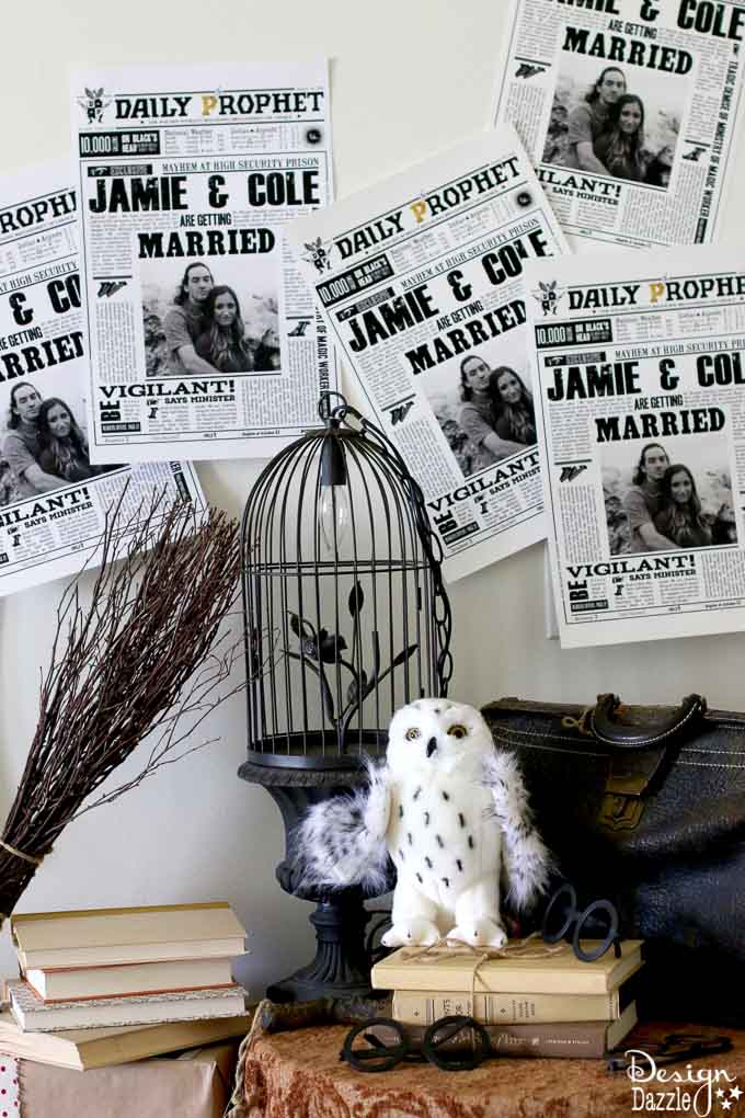is your bride to be a harry potter fanatic this harry potter themed bridal shower