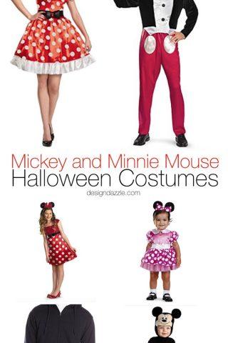 Marvelous Mickey and Minnie Mouse Halloween Costumes