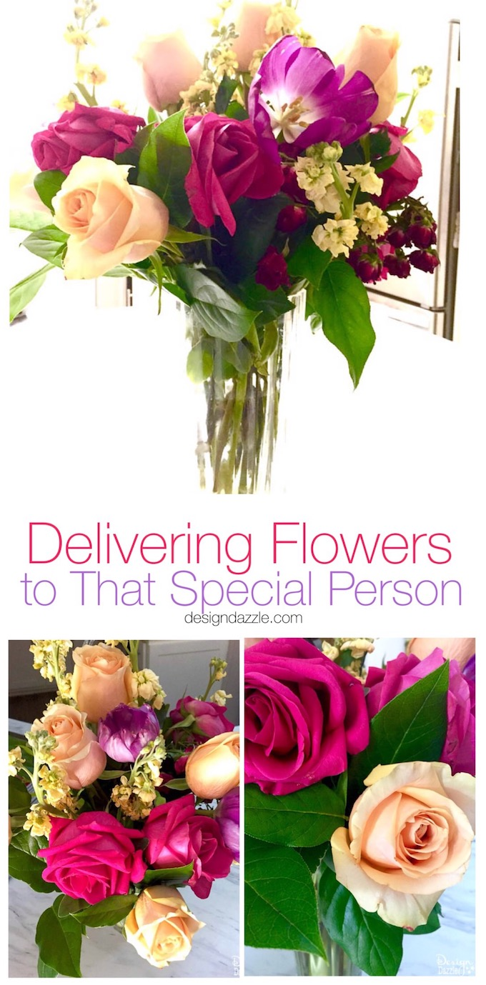 Do you have a special person that might live far away but could use a little extra love? Then this is the perfect post for you!   Design Dazzle