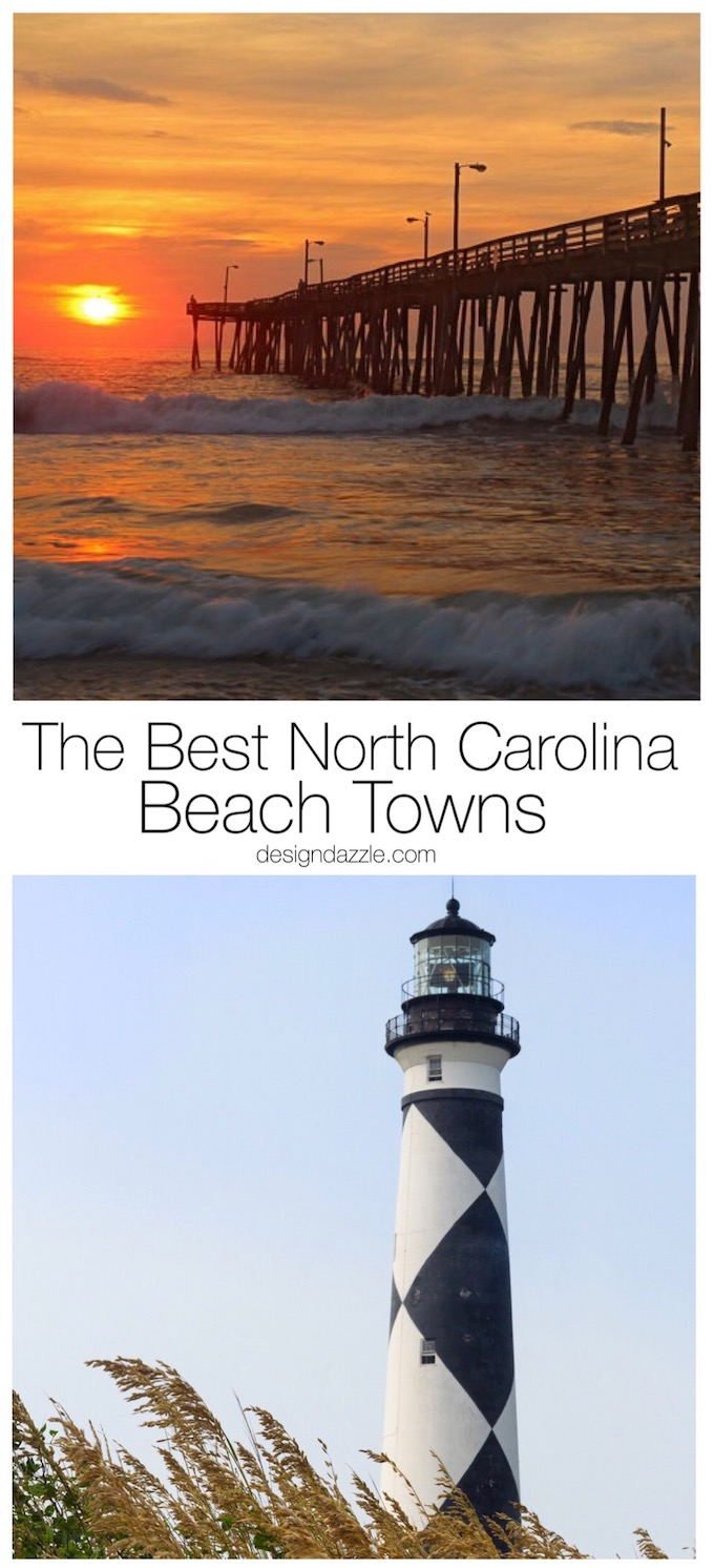 There is something magical about the beaches in North Carolina. It could be the laid back southern vibe, the people, or just the gorgeous scenery! | Design Dazzle
