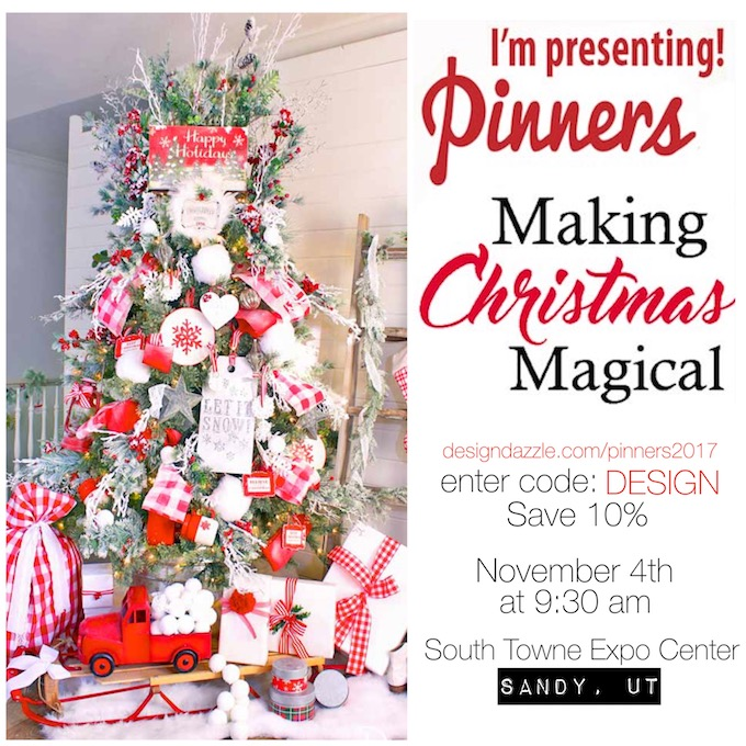 Come meet me at Pinners Conference this year! It's all about taking fun classes, learning amazing skills/ideas/tips, and even shopping! | Design Dazzle