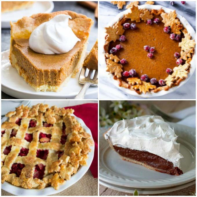 20 of the tastiest Thanksgiving pies out there! But be prepared for something magnificent and totally different than your typical Thanksgiving pies! | Design Dazzle