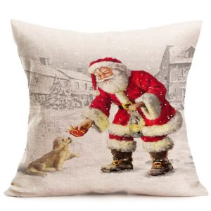 These 22 gorgeous Christmas pillows have a vintage vibe and are some of my very favorites that I have ever found. There isn't one pillow above $15! | Design Dazzle