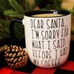 DIY Christmas Mug Tutorial