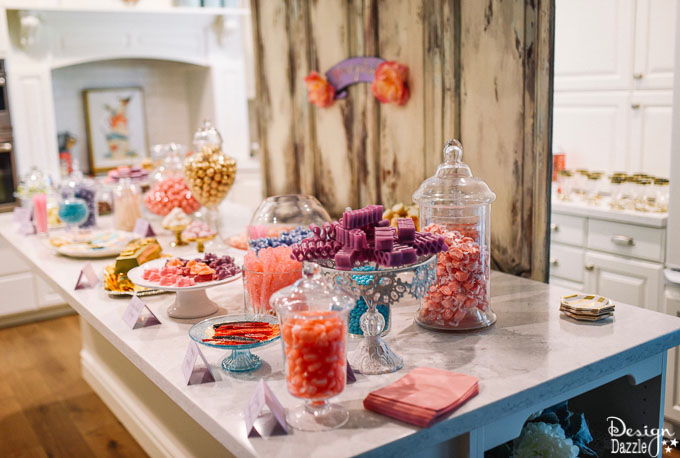 Harry Potter themed bridal shower complete with Honeydukes Sweet Shop, this party would also work perfect for a Birthday Party or Baby shower!   Design Dazzle