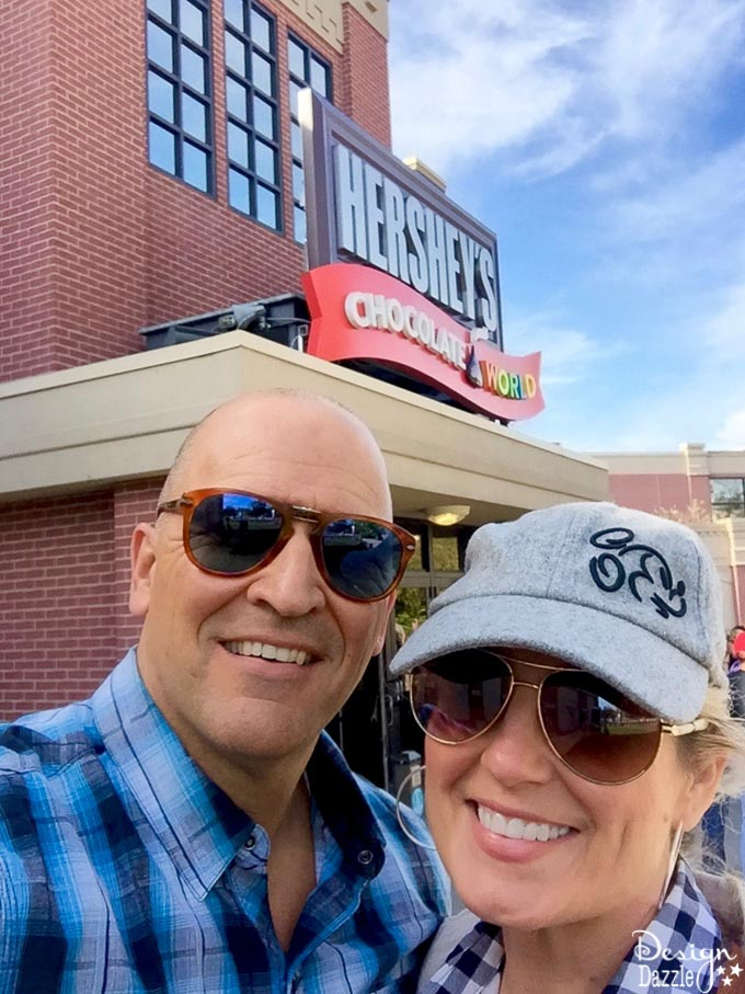 We made a stop in the town of Hershey, Pennsylvania. After visiting Hershey's Chocolate World, I'm convinced this is definitely the sweetest place on earth!