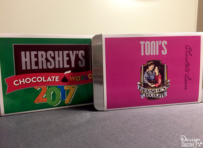 We made a stop in the town of Hershey, Pennsylvania. After visiting Hershey's Chocolate World, I'm convinced this is definitely the sweetest place on earth!   Design Dazzle