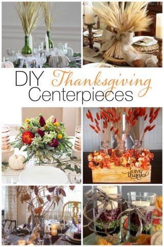 12 Beautiful DIY Thanksgiving Centerpieces