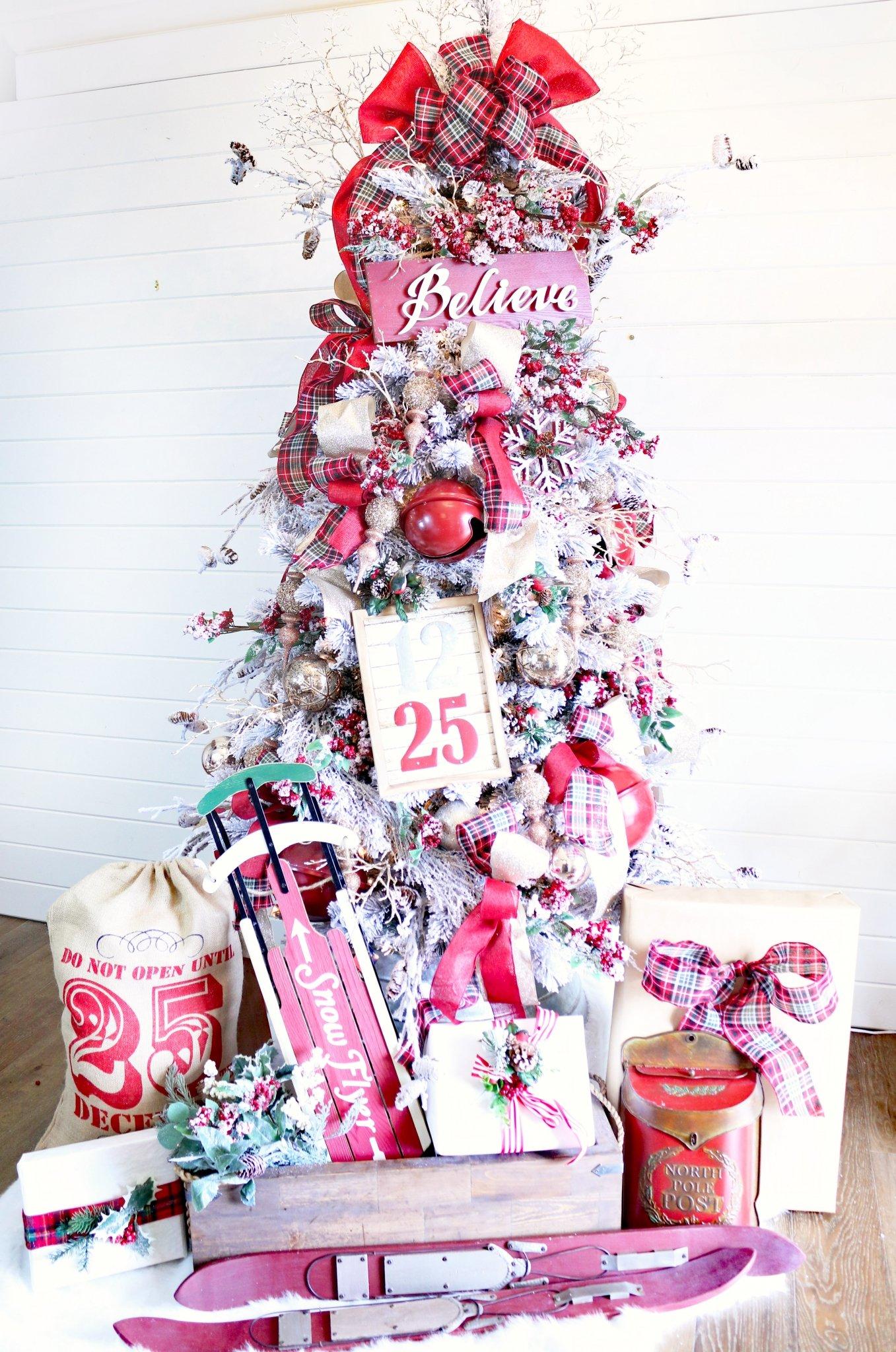 Believe in The Magic Christmas Dream Tree - Design Dazzle