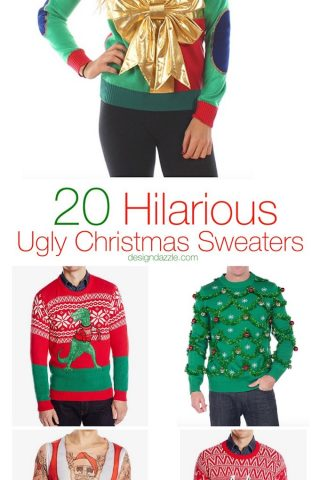 20 Hilarious Ugly Christmas Sweaters