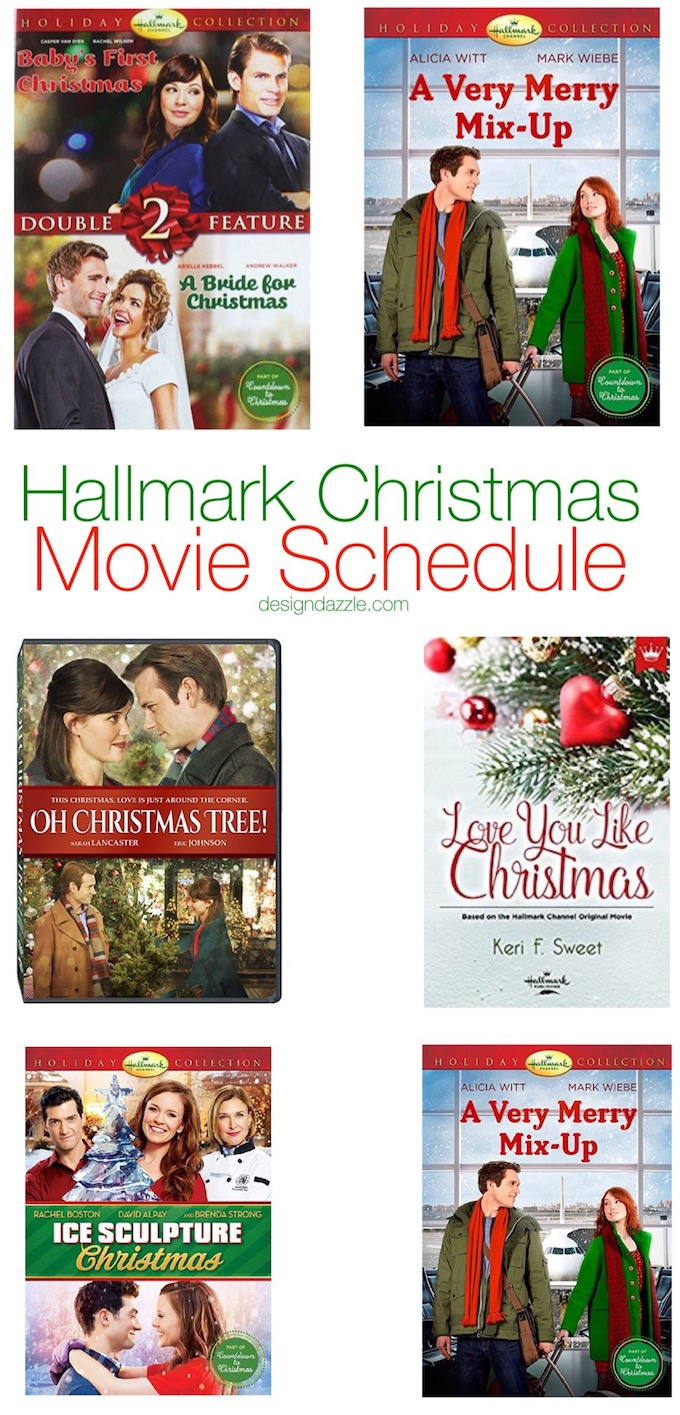 Hallmark Christmas Movie Schedule - Design Dazzle