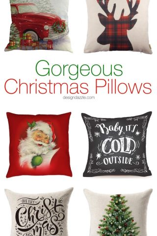 22 Gorgeous Christmas Pillows
