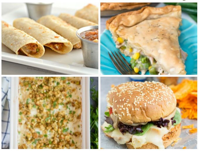Save your leftovers and use this list of 12 Delicious Leftover Turkey Recipes. Don't forget to tell me what your favorite is! | leftover thanksgiving recipe ideas | easy turkey recipes | day after thanksgiving meals || Design Dazzle #leftoverturkey #thanksgiving #thanksgivingrecipes #turkeyrecipes