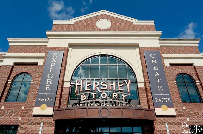"""After our visit, it's easy to see why they call Hershey PA """"the sweetest place on earth"""".I'm sharing a few of the fun places we visited while we were there! 