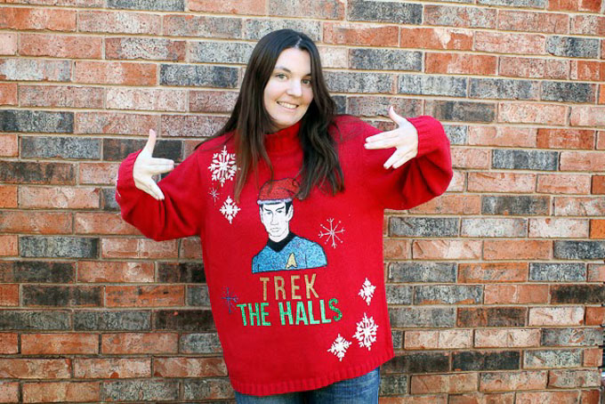 Whether you're a fan of DIY or you like to buy, this post has 20 hilarious ugly Christmas sweater ideas for anyone and everyone! | Design Dazzle