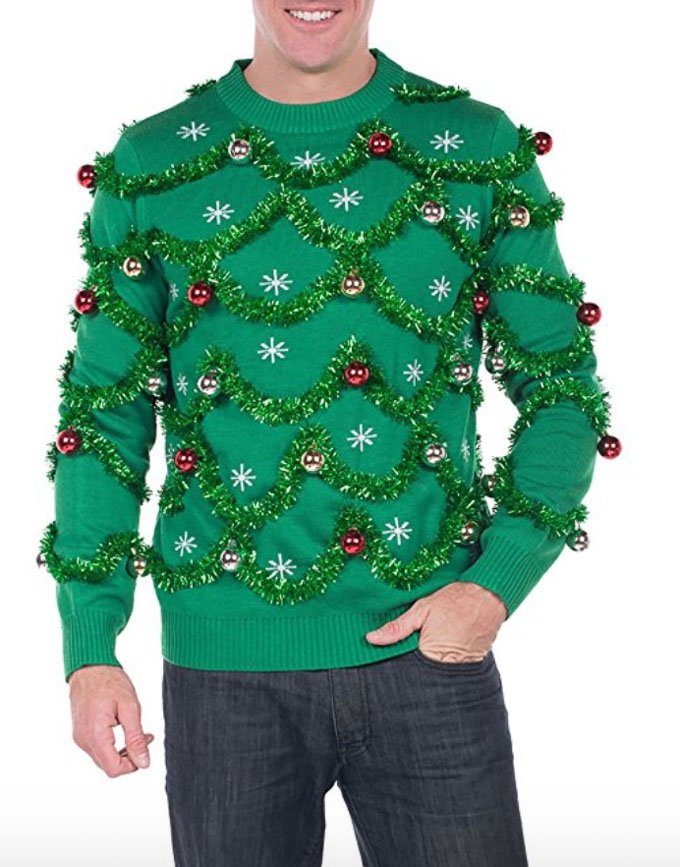 Where do you buy christmas sweaters