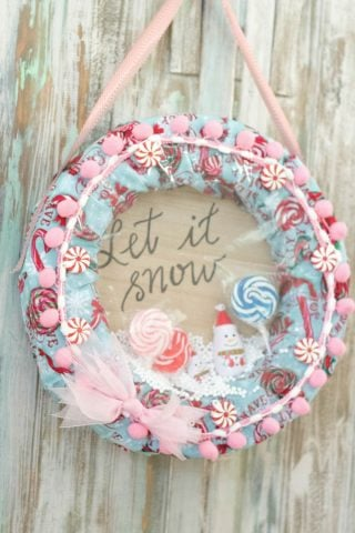 Snow Globe Wreath