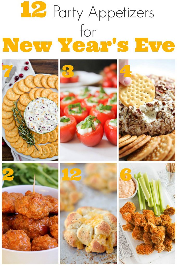 Regardless of whether you ring in the New Year with a big party or a quiet gathering, you'll want to have these 12 party appetizers! | Design Dazzle