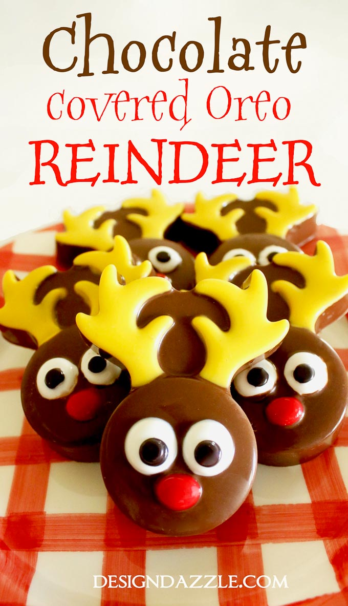 Chocolate Covered Oreo Reindeer by Toni Roberts