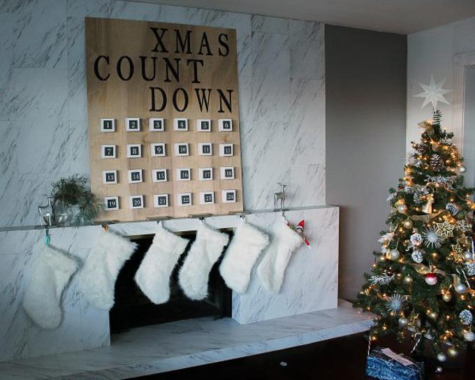 Make This DIY Christmas Advent Calendar