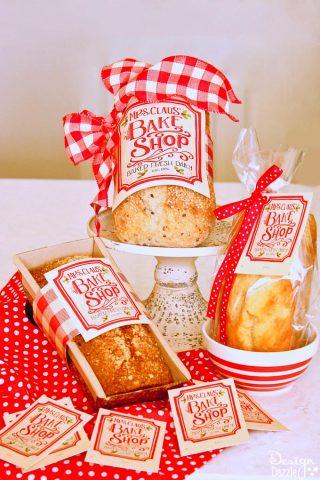 Mrs. Claus Bake Shop Sign & Printables