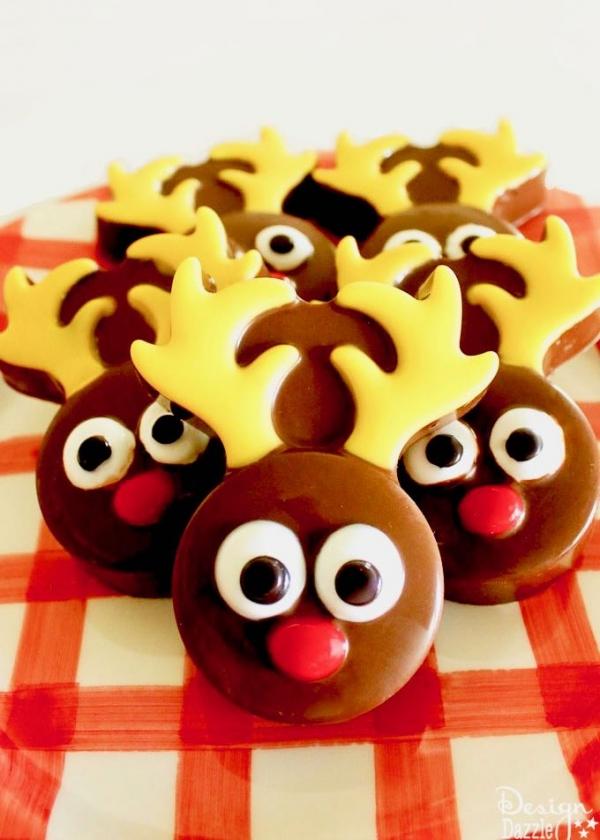 Chocolate covered oreo reindeer designdazzle