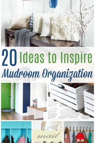 Mudroom Organization Ideas