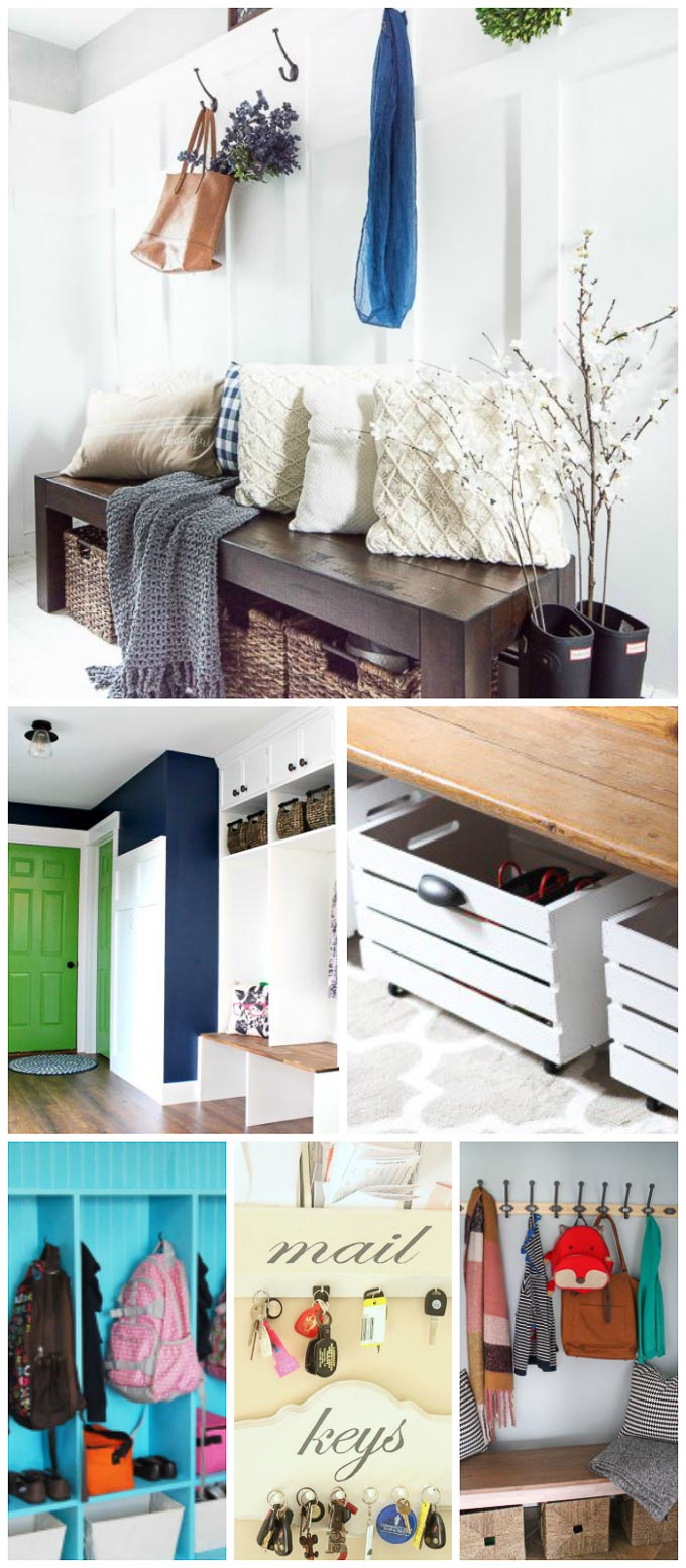 These 20 genius mudroom organization ideas will show you the best ideas to get your mudroom exactly how you want it- and fast!| Design Dazzle