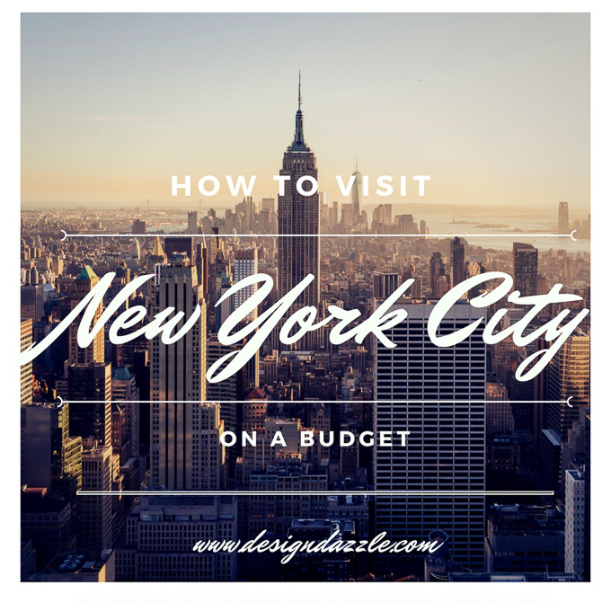 I recently traveled to New York City and discovered there are many activities you can do for free and I want to pass them onto you. | Design Dazzle