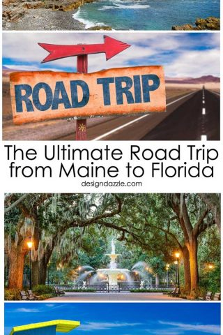 Off I-95: The Ultimate Road Trip from Maine to Florida