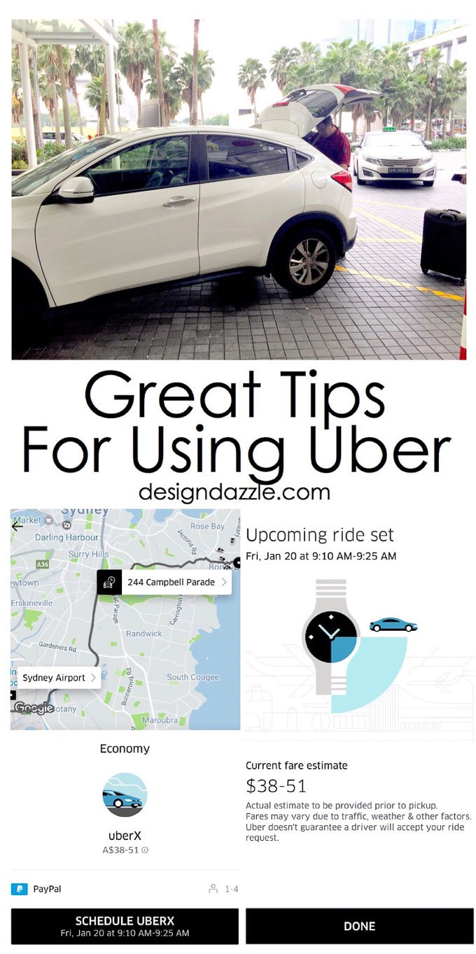 When Do Uber Drivers Get Paid >> Tips, Tricks, and Advice for Using Uber - Design Dazzle