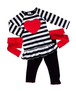 With the day of love right around the corner, here are 26 adorable and affordable Valentine's Day outfits for the whole family!   Design Dazzle