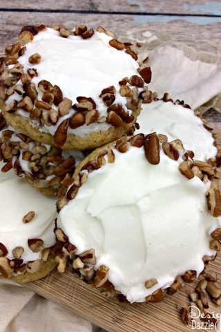 Mouth Watering Carrot Cake Cookies