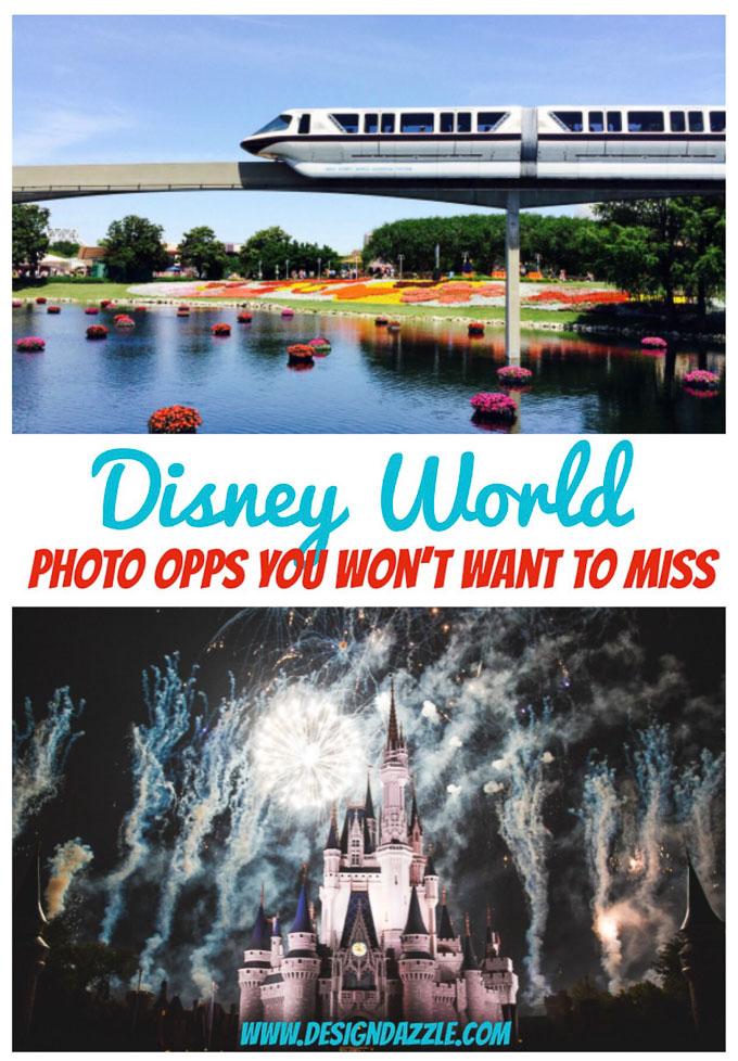 Disney World Photo Opps You Won't Want to Miss! | Design Dazzle