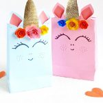Unicorn Gift Bag- Free Template