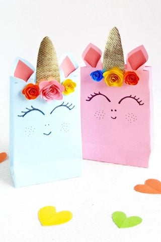 Unicorn Gift Bag- Free Template