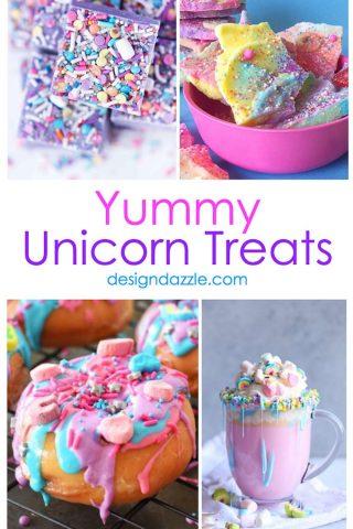 11 Yummy Unicorn Treats