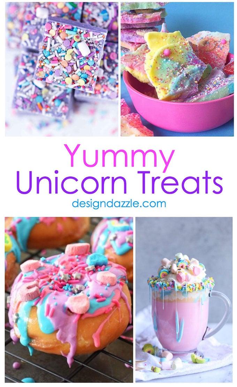 11 Yummy Unicorn Treats Design Dazzle