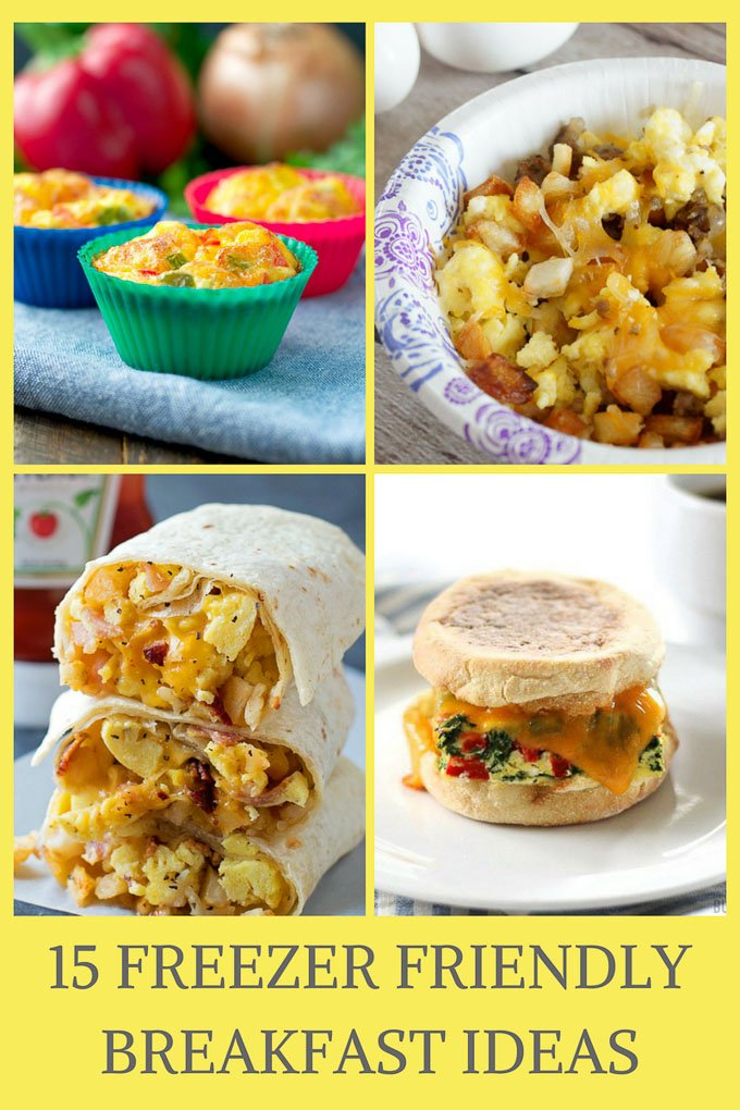 If you want something quick, no effort to make, and is healthier than a Poptart, you need these delicious freezer friendly breakfast ideas!| Design Dazzle