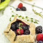 Mini Mixed Berry Galettes