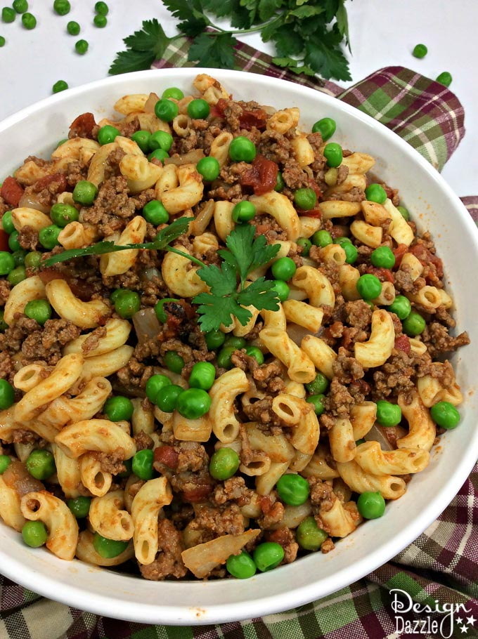 This Perfect Irish Pasta recipe is colorful, delicious, and a great way to celebrate St. Patricks day with your family! So try something new and make this delicious Irish Pasta recipe!| Design Dazzle