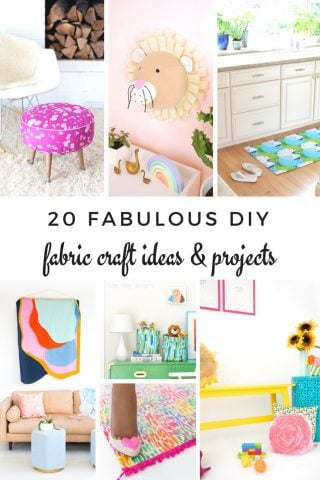 20 Fabulous DIY Fabric Crafts and Project Ideas