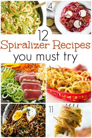 12 Spiralizer Recipes You Will Want To Try