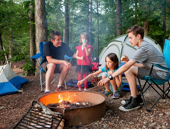 Did you know that Disney World is a hot spot for camping? Disney's Fort Wilderness Campground is fun for the whole family. Read more and find out how to camp in Disney World! | Design Dazzle